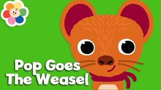 Pop Goes The Weasel | Nursery Rhymes for Babies | The Best Kids Songs & Baby Songs | BabyFirst TV