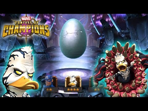 Rotten Egg Crystal Opening (Venom The Duck): Marvel Contest Of Champions
