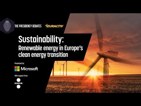 Sustainability: Renewable Energy in Europe's Clean Energy Transition (Highlights)