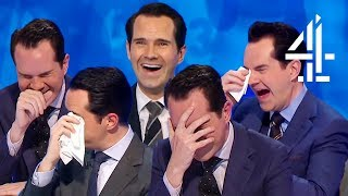 Every Time Jimmy Carr BREAKS & LOSES IT (or the Worst ASMR Ever) | 8 Out of 10 Cats Does Countdown