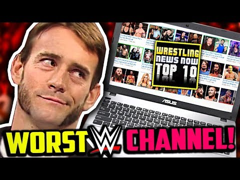 Worst WWE Channel On YouTube! (WrestlingNewsNow Must Be Stopped)