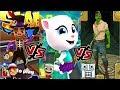 ТОМ ЗА ЗОЛОТОМ vs Subway Surfers London vs Temple Run 2 Версия на Хэллоуин - Веселые Мульт Игры