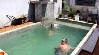 Construção de piscina de alvenaria - Vídeo 4