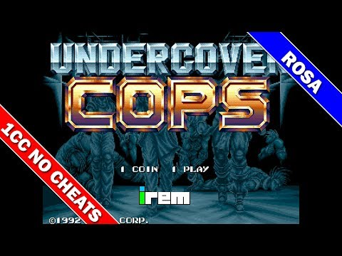 Undercover Cops Speedrun [Arcade] 1CC With Rosa On Hard Difficulty in 21:42