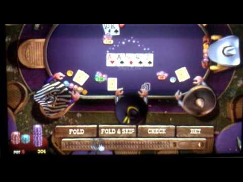Royal Flush in Governor of Poker 2