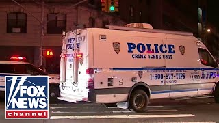 New York police union reps hold press conference