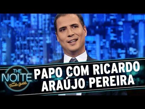 The Noite (03/07/15) - Entrevista com Ricardo Araújo Pereira