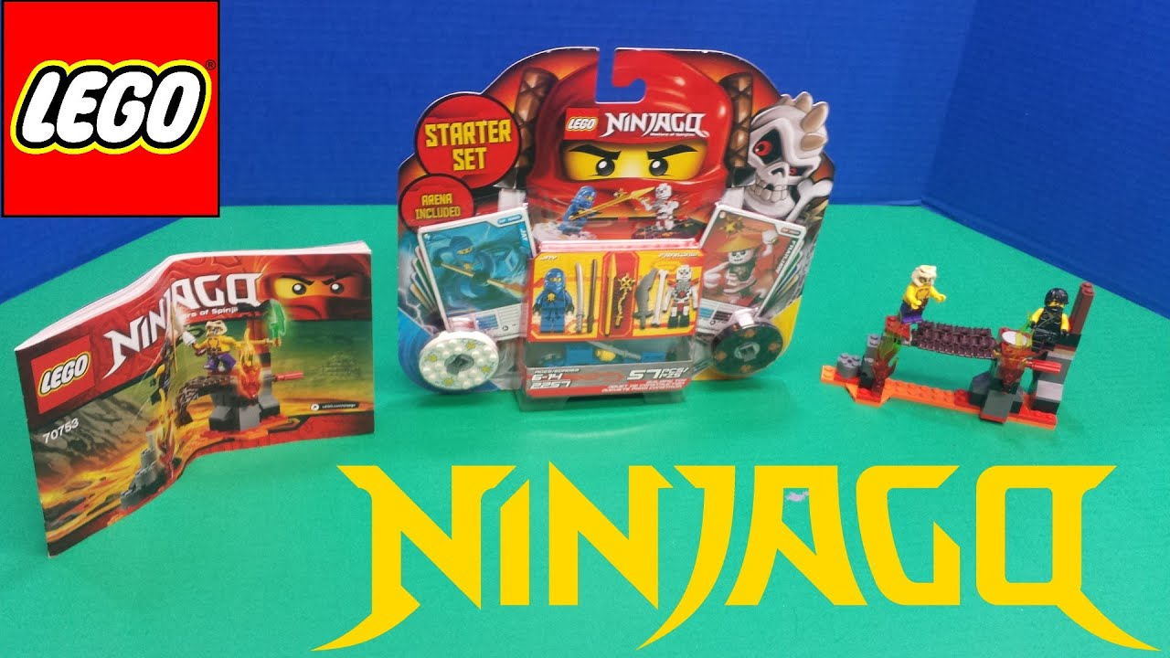 Lego Ninjago Spinjitzu Starter Set 2257 Review!!!!! - YouTube