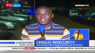 Gang rapes census officer in Maseno