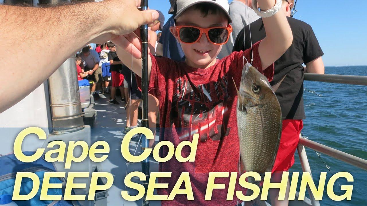 Cape cod deep sea fishing on the helen h youtube for Cape cod deep sea fishing
