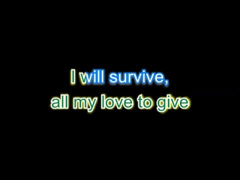 Cake - I will survive - karaoke