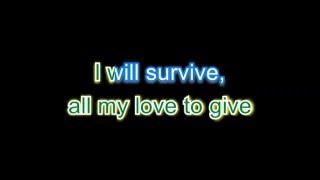Cake - I will survive - karaoke