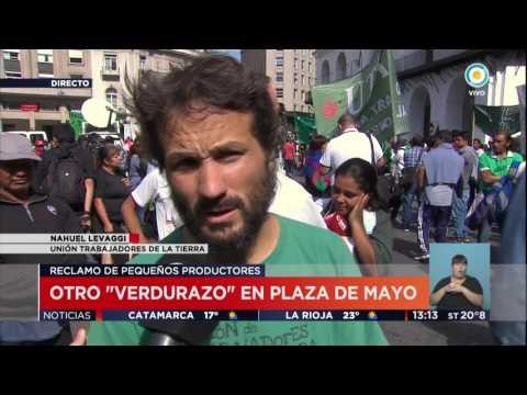 TV Pública Noticias - Verdurazo en Plaza de Mayo