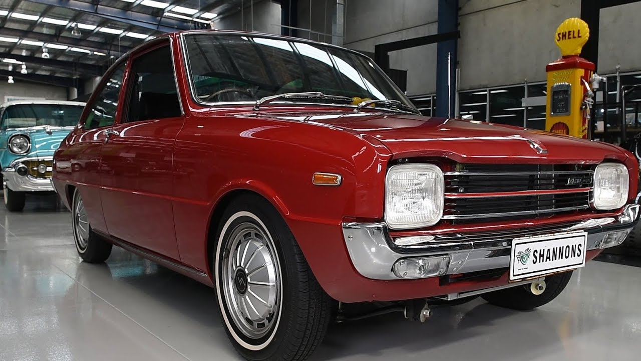 1969 Mazda 1200 (Modified 13b) Coupe - 2017 Shannons Melbourne Spring Classic Auction