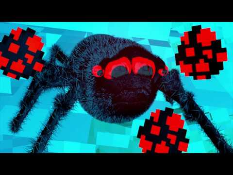 REALISTIC SPIDER LIFE IN MINECRAFT! - Minecraft Animation