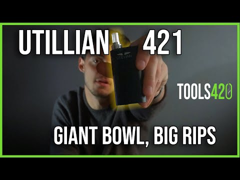 Utillian 421 review & how-to: 2020's best cheap dry herb vape? – 4K