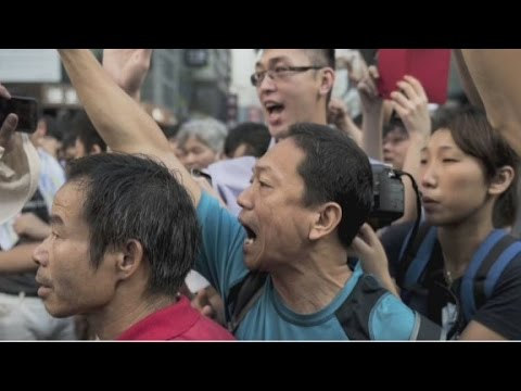 "Hong Kong's ""political earthquake"""