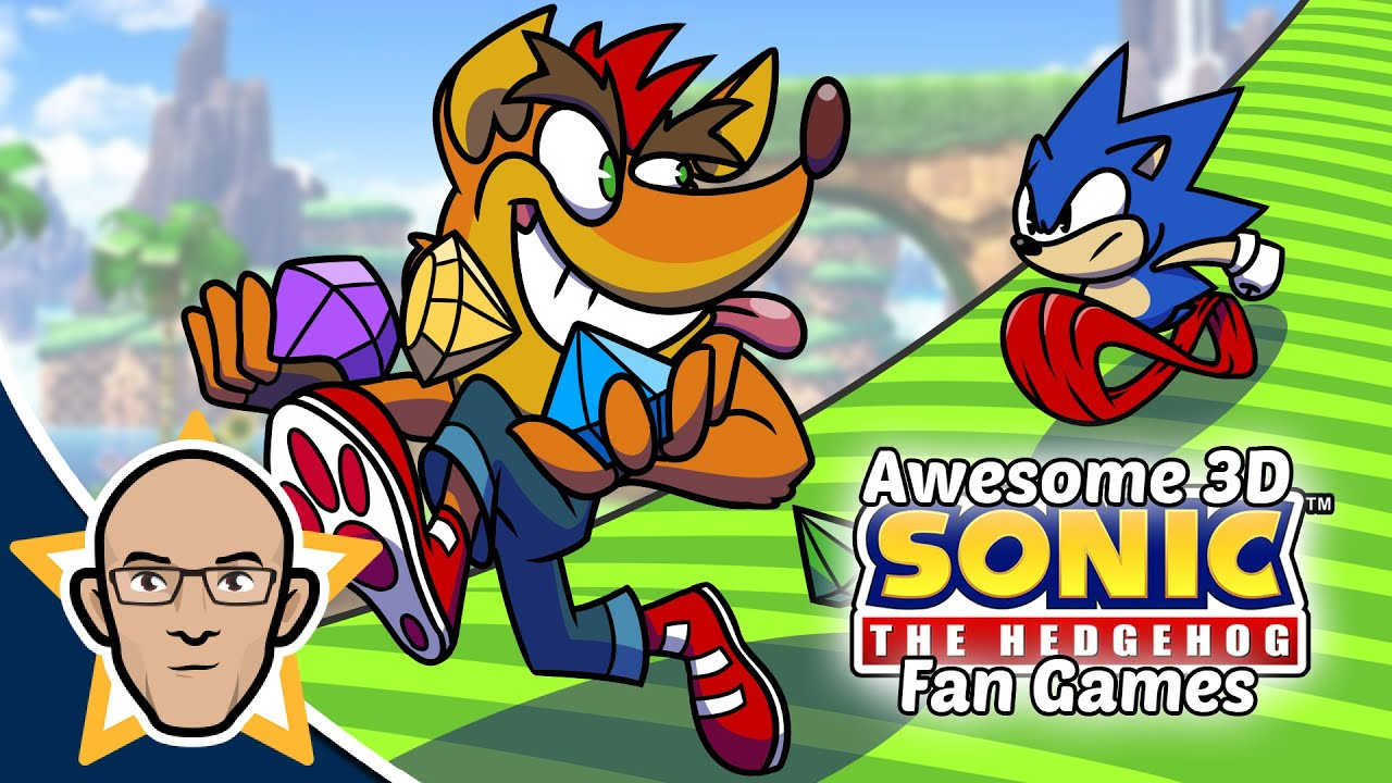 Amazing 3D Sonic Fan Games you MUST play!