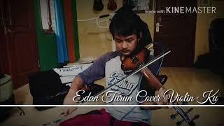 """Belajar lagu """"Edan Turun"""" Violin Cover Zeta Ku"""