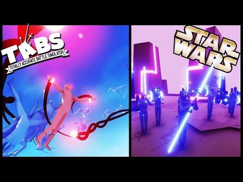 Totally Accurate Battle Simulator Neon STAR WARS Battles, Dark Peasant, TABS Order 66