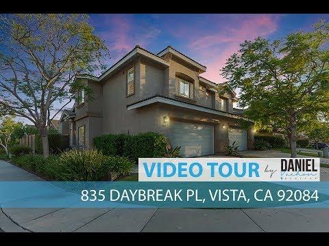 VIDEO TOUR | 835 Daybreak, Vista, CA 92084
