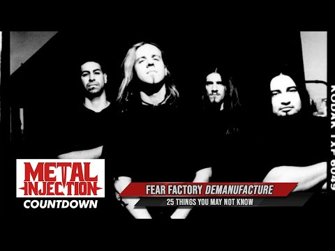 25 Things About FEAR FACTORY's Demanufacture You May Not Know   Metal Injection   Metal Injection