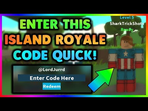 New Island Royale Code Redeem Code Roblox Youtube
