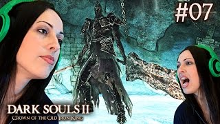 Dark Souls 2 Crown of the Old Iron King DLC Part 7 - Fume Knight Boss Fight