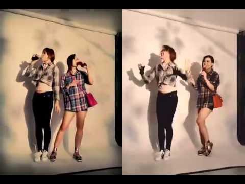 Hậu trường chụp ảnh cùng Hari Won