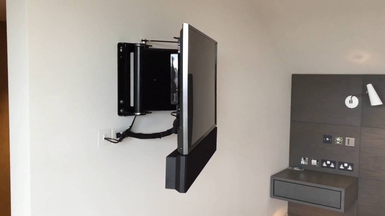 Motorised Tv Wall Bracket