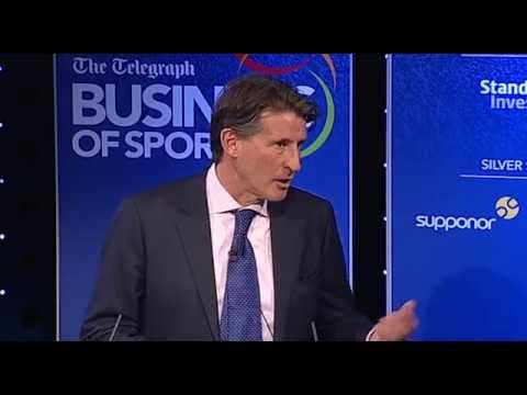 Seb Coe opening address at The Telegraph Business of Sport conference