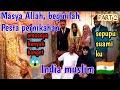 hadiri resepsi perkawinan muslim india Kerala|| perbedaan Pesta pernikahan india Dengan Indonesia 🇮🇩