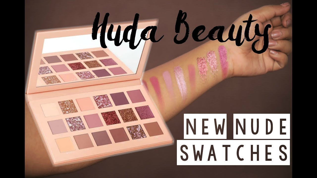 The New Nude Eyeshadow Palette by Huda Beauty #4