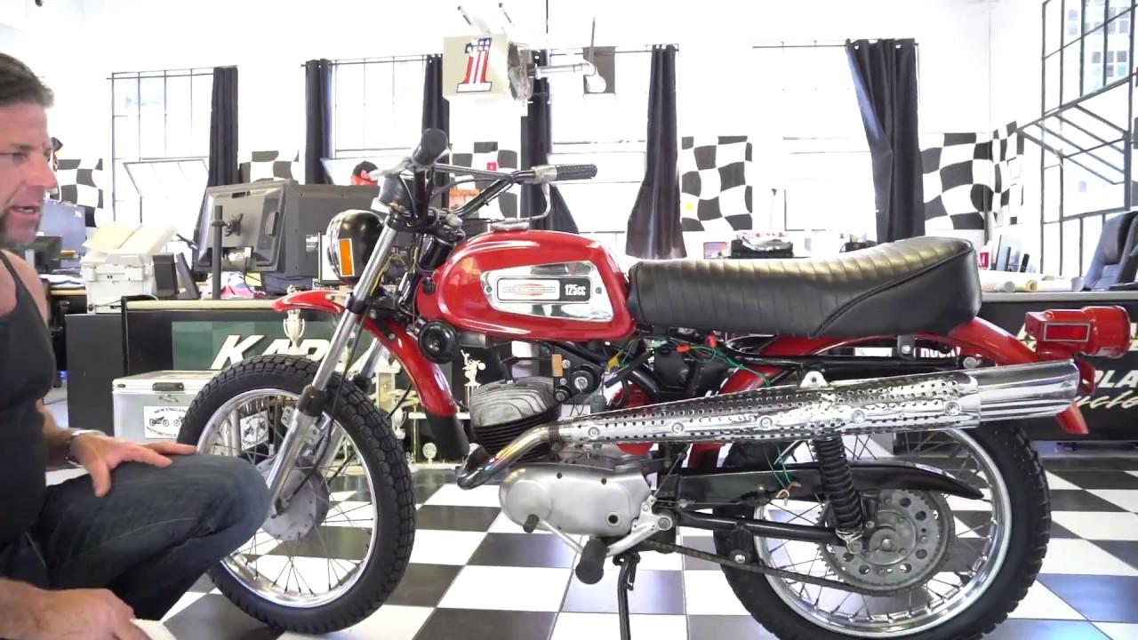 1972 Harley Davidson Amf Sx-125