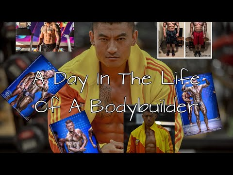 A Day in The Life of A Bodybuilder, Sangay Tsheltrim, Mr. Bhutan