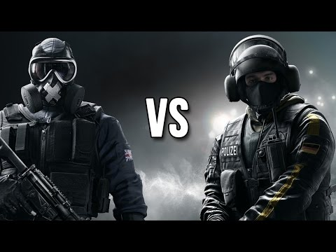Rainbow Six Siege - Mute vs. Bandit Operator Vergleich