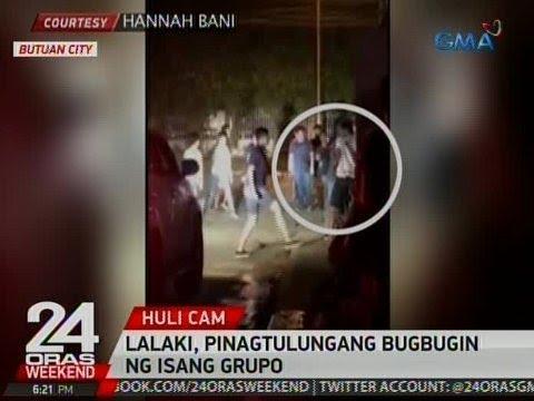 24 Oras: Lalaki, pinagtulungang bugbugin ng isang grupo sa Butuan City