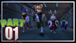 Star Fox 64 3D Part 1 - Corneria | Enter Star Fox