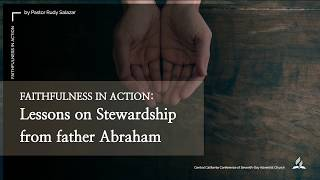 Lessons on Stewardship from father Abraham