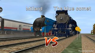 A4 Millard vs the blue comet