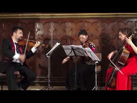 RARE! The premiere of Karol Lipiński – Trio No.1 in G minor, Op.8 for 2 Violins and Cello