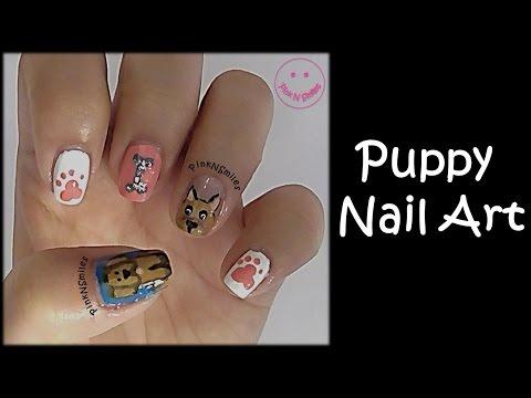 puppy-nail-art