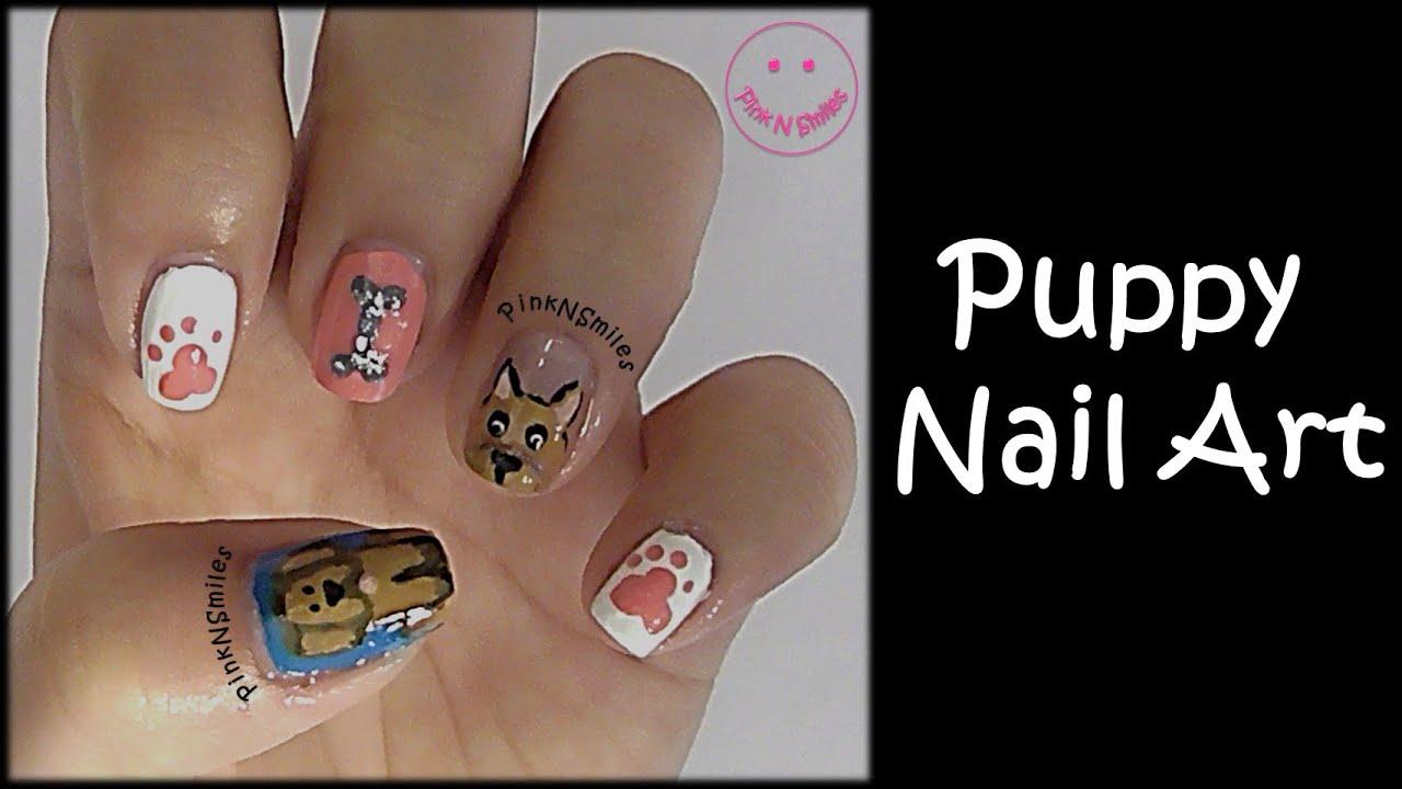 Puppy Nail Art Youtube