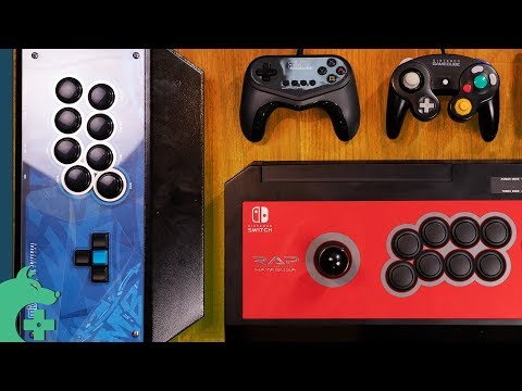 Nintendo Switch's Best (And Weirdest) Fight Sticks and Fight Controllers