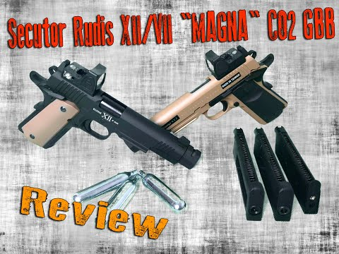 "Secutor Rudis XII/VII ""MAGNA"" CO2 GBB 