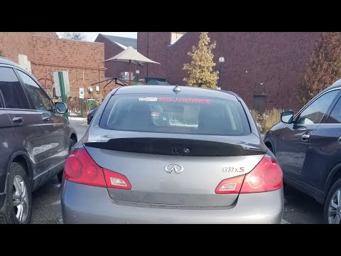 infiniti g37s sedan | How to install carbon fiber wing / spoiler