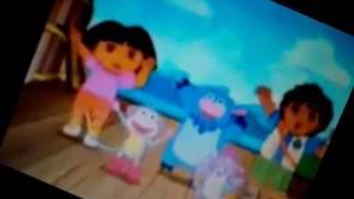 Dora and Spongebob Tick Tock