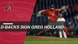 Greg Holland signs a one-year deal with the D-backs