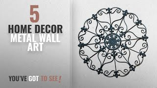 Top 10 Home Decor Metal Wall Art [2018 ]: Iron Wall Medallion   Authentic Wall Decor