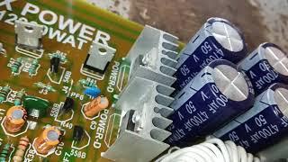 Dx power amp 12000w